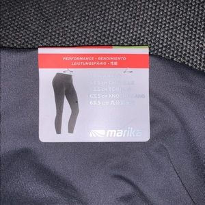 Marika Pants & Jumpsuits - NWT Marika Rose Gold Leggings Size XS